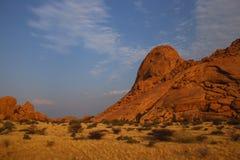 ландшафт namibian стоковое изображение rf
