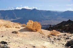 ландшафт tenerife вулканический Стоковая Фотография