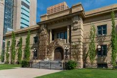 Апелляционный суд Альберты в Калгари Альберте стоковое фото rf