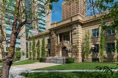 Апелляционный суд Альберты в Калгари Альберте стоковое изображение rf