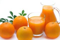 Апельсиновый сок Стоковые Фото