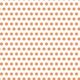 Апельсин запятнал безшовный дизайн картины иллюстрация штока