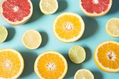 Апельсин и лимон стоковая фотография rf