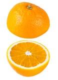 2 апельсина над одином другого Стоковые Фотографии RF