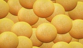 Апельсины абстракция Стоковое фото RF