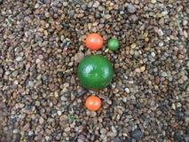 Апельсины в миниатюре Стоковые Изображения