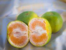 Апельсины в утре Стоковое Изображение RF