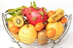 Апельсины и груши кивиа pitaya банана Стоковое фото RF