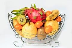 Апельсины и груши кивиа pitaya банана Стоковые Фото