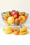 Апельсины и груши кивиа pitaya банана Стоковые Изображения RF