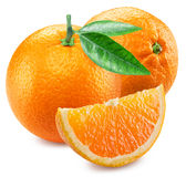 2 апельсины и этапа плодоовощ Стоковая Фотография RF