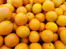 Апельсины на дисплее Стоковые Изображения