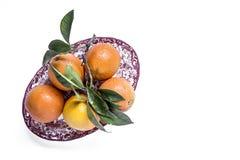 Апельсины на светлой предпосылке стоковые изображения rf