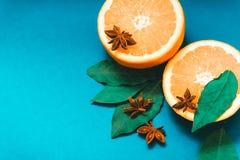 Апельсины с специями Стоковое Фото