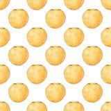 Апельсины fruits pattern seamless рука нарисованная предпосылкой также вектор иллюстрации притяжки corel Стоковые Фотографии RF