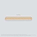 Апельсин веб-дизайна загрузки Стоковые Фото