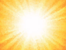 Апельсин излучает предпосылку лета Стоковое Изображение