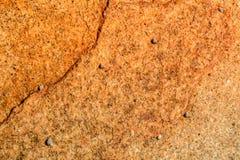 Апельсин картины предпосылки каменный, коричневый в Азии Пхукете Таиланде Стоковое Фото