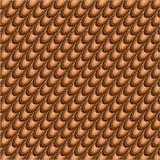 Апельсин - коричневая абстрактная предпосылка Стоковая Фотография