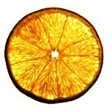 Апельсин куска изолированный на белизне Стоковые Фотографии RF
