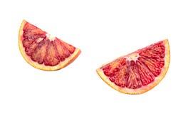 Апельсин куска сицилийский Стоковое Изображение RF