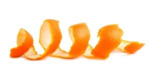 Апельсин - макрос Стоковые Изображения