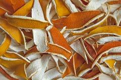 Апельсин - макрос Стоковые Фото
