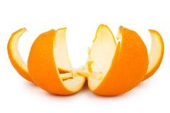 Апельсин - макрос стоковые фотографии rf