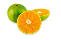 Апельсин мандарина, плодоовощ Tangerines Стоковое фото RF