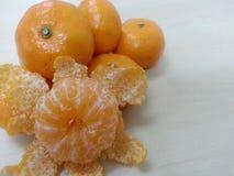 Апельсин мандарина/Tangerine: Погнутость Стоковые Фото