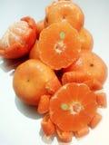 Апельсин мандарина/Tangerine: Freshy 4 Стоковые Фотографии RF