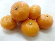 Апельсин мандарина/Tangerine: Origin2 Стоковая Фотография RF