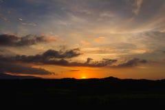 Апельсин неба Стоковое Изображение RF