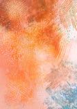 Апельсин около озера Стоковые Изображения
