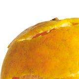 Апельсин отделенный с белой предпосылкой Стоковая Фотография RF