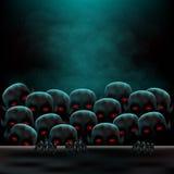 Апокалипсис 2 зомби Стоковые Изображения