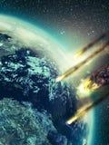 Апокалипсис Стоковые Изображения