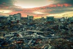Апоралипсический ландшафт стоковое изображение