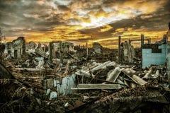 Апоралипсический ландшафт стоковые изображения