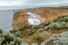 12 апостола, большая дорога океана, Виктория Австралия октябрь 2017 Стоковое Изображение