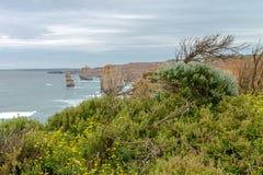 12 апостола, большая дорога океана, Виктория Австралия октябрь 2017 Стоковые Фотографии RF