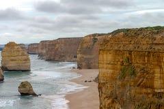 12 апостола, большая дорога океана, Виктория Австралия октябрь 2017 Стоковое Изображение RF