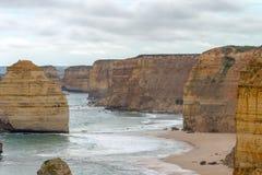 12 апостола, большая дорога океана, Виктория Австралия октябрь 2017 Стоковая Фотография