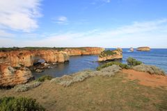 12 апостола Мельбурн Австралия Стоковые Изображения RF