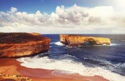 12 апостола australites Стоковые Фотографии RF