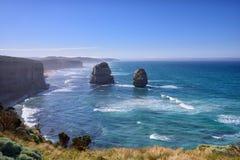 12 апостолов вдоль большой дороги океана Стоковое Изображение