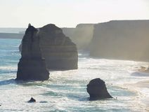 12 апостолов, Виктория, Австралия Стоковая Фотография