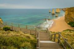 12 апостолов на большой дороге океана в Виктории, Австралии Стоковое фото RF