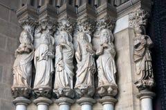 апостолы портальные Стоковые Изображения RF