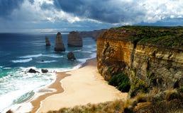 12 апостола Австралия Стоковые Изображения RF